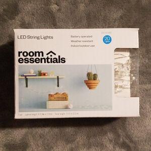 LED String Ligts (Cactus)-NWOT
